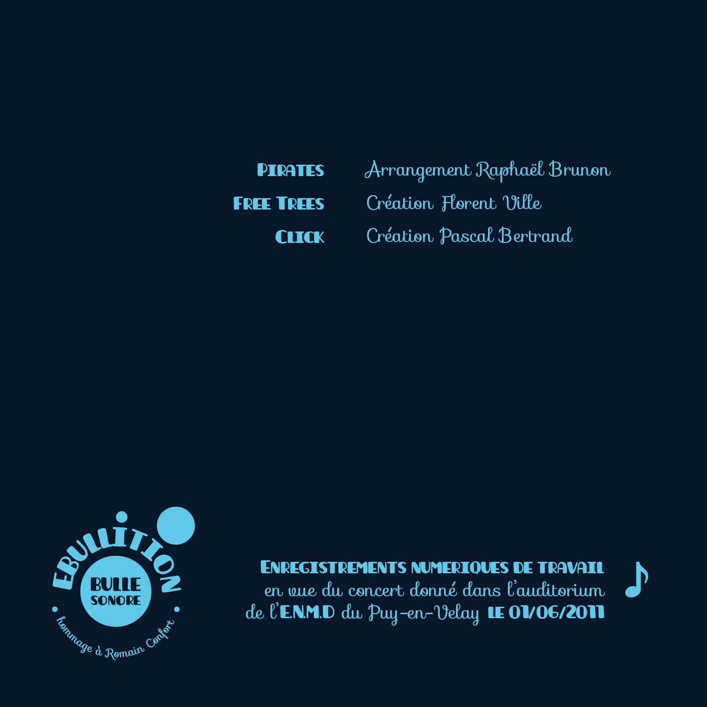 Couverture CD projet Ebullition