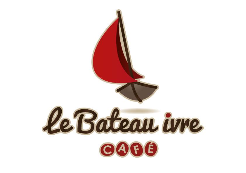 Logotype le Bateau Ivre vertical