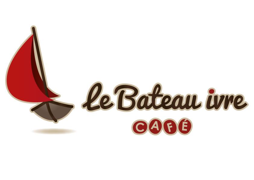 Logotype le Bateau Ivre horizontal