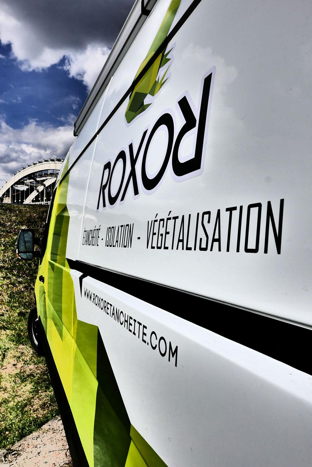 marquage véhicule ROXOR étanchéité