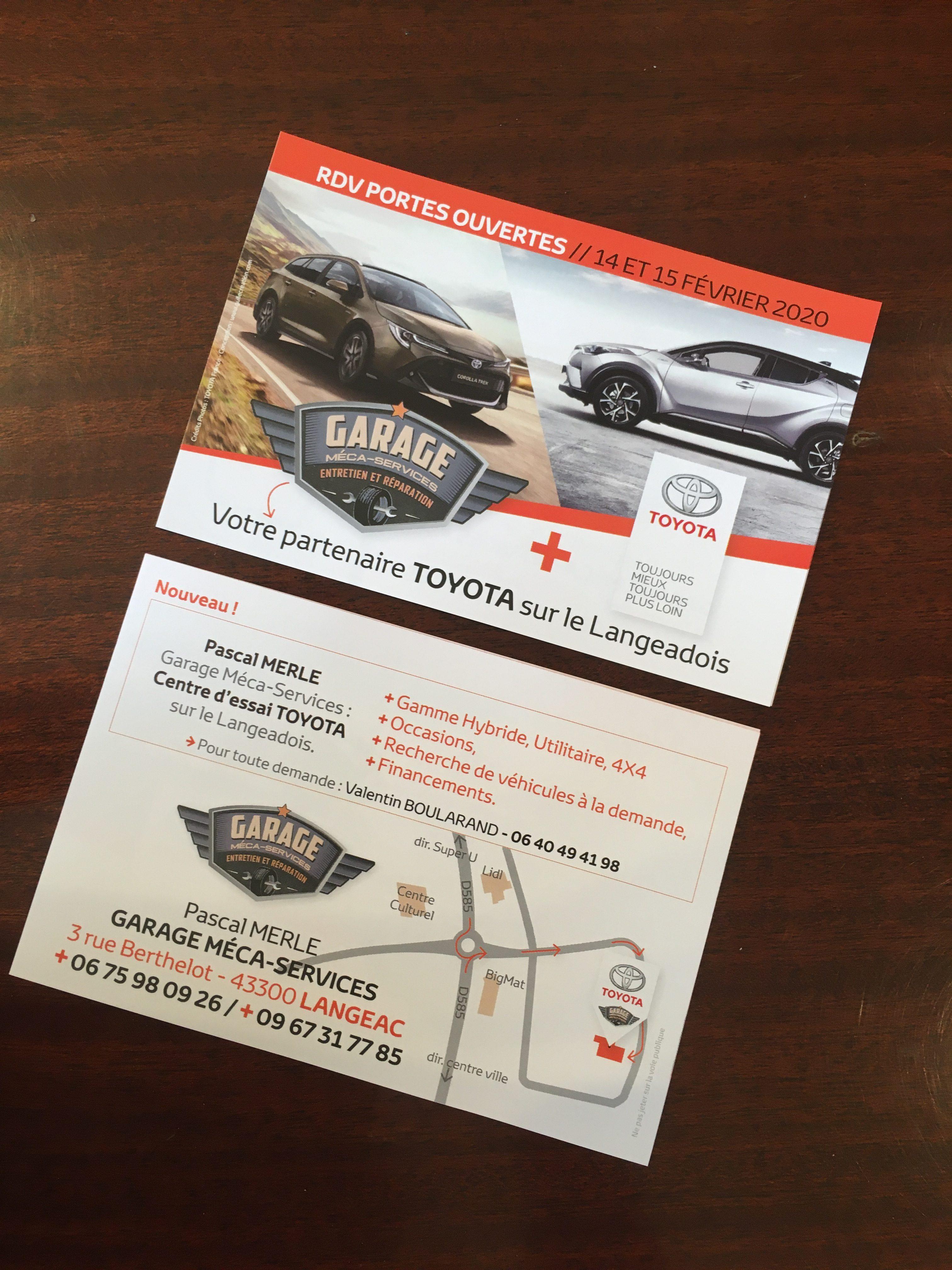 Journée portes ouvertes TOYOTA Escudero & Garage Méca Services